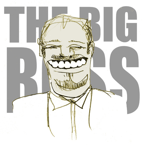 Cartoon: the big boss (medium) by jenapaul tagged tv,stefan,raab,tvtotal,eurovision,manager