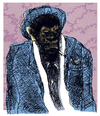 Cartoon: bad monkey (small) by jenapaul tagged monkey,bad,criminal,gangster,ape,man