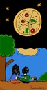 Cartoon: Pizza (small) by ibrahimkalkan tagged pizzapitch