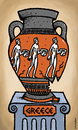 Cartoon: Greece vase of crisis (small) by svitalsky tagged greece,crisis,cartoon,euro,area,vase,svitalsky,svitalskybros