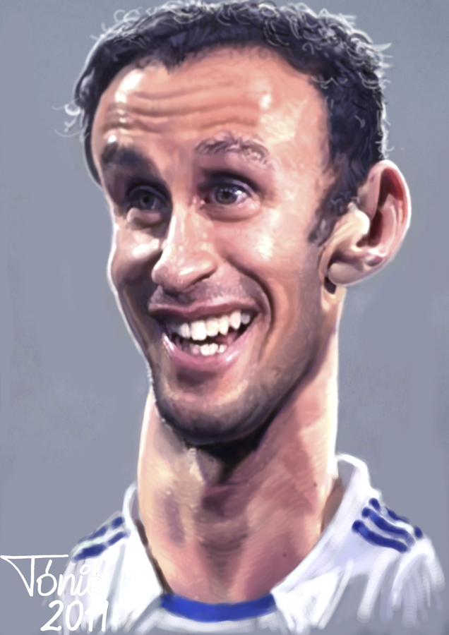 Cartoon: Ricardo Carvalho (large) by Tonio tagged football,karikatur,fußball,fussball,ricardo carvalho,ricardo,carvalho
