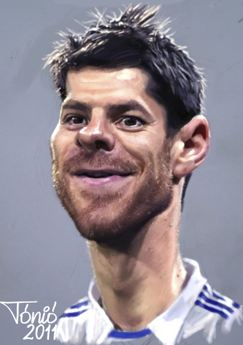 Real Madrid Caricature