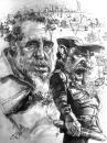 Cartoon: Fidel Castro (small) by Tonio tagged caricature,portrait,politics,cuba,communist