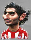 Cartoon: Hamit Altintop (small) by Tonio tagged türkey,turk,török,fussball,karikatur,münchen,nationalmanschaft,football,soccer,international,kariakturen,fußball,sport