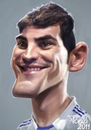 Cartoon: Iker Casillas   Real Madrid (small) by Tonio tagged football