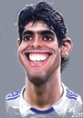 Cartoon: Kaka (small) by Tonio tagged football,forward,brasil,international,real,madrid