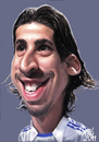 Cartoon: Sami Khedira (small) by Tonio tagged football