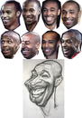 Cartoon: Thierry Henry FC Barcelona (small) by Tonio tagged football