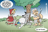 Cartoon: Alzheimer im Märchenwald 2 (small) by svenner tagged cartoon,comic,fairytales,märchen,alzheimer