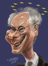 Cartoon: Herman Van Rompuy (small) by zsoldos tagged famous,people