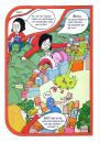 Cartoon: Tre Kroner Girls 11von20 (small) by Nk tagged skandinavien,scandinavia,oslo,action,hero,superheld,girl