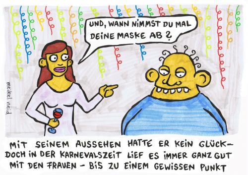Maske Ab By Meikel Neid Media Culture Cartoon Toonpool