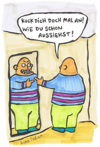 Spiegel by meikel neid philosophy cartoon toonpool for Spiegel cartoon
