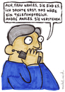 Cartoon: Andre Anales (small) by meikel neid tagged andrea,nahles,anal,telefon,streich