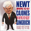 Cartoon: NUTS GINGRICH (small) by Fred Makubuya tagged newt,gingrich,racist,republican,usa,right,wing,obama,elections,politicians