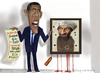 Cartoon: Osama proof of death! (small) by Fred Makubuya tagged osama,bin,laden,obama,terrorist,united,states,barack,baffoon,of,the,week