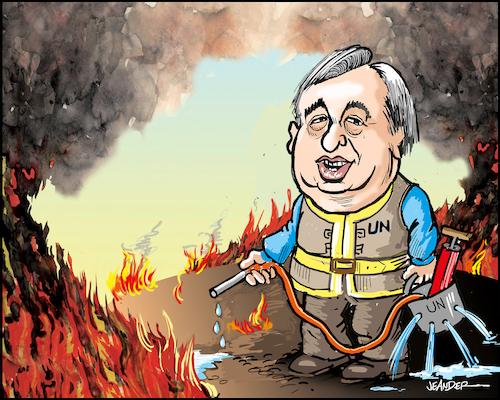 Image result for UN SG cartoons