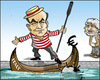 Cartoon: Bersani (small) by jeander tagged italy,government,bersani,grillo,berlusconi