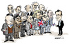 Cartoon: British Prime Ministers (small) by jeander tagged pm,primeminister,gb,great,britain,sir,winston,churchill,gordon,brown,john,major,harold,wilson,margaret,thatcher,james,jim,callaghan,edward,ted,heath,david,cameron,macmillan,tony,blair,alec,douglashome,anthony,eden,clement,attlee