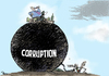 Cartoon: Corruption power (small) by Popa tagged cp11