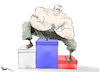Cartoon: Putin and Russian Elections (small) by Popa tagged putin,russia,democracy,politics