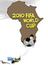 Cartoon: The woreld cup (small) by Popa tagged wc10
