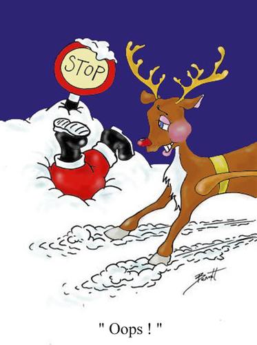 Sorry Santa ! By andybennett | Media & Culture Cartoon ...  Sorry Santa ! B...