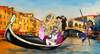 Cartoon: Indifferent Proposal (small) by andybennett tagged proposal bridge rialto canal grand gondola ring engagement diamond girl essex stallion italian