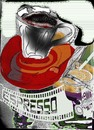 Cartoon: expresso of coffeee (small) by el osso tagged el,osso