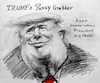Cartoon: Trump-Pussy Grabber (small) by yllifinearts tagged pussy,grabber,trump,president,donald