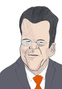 Cartoon: Guttenberg (small) by Liam tagged politiker,promi