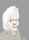 Cartoon: Klaus Kinski (small) by Liam tagged klaus,kinski,schauspieler,verrückt,cracy,mad,fool