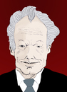 Cartoon: Willy Brandt (small) by Liam tagged spd,politiker,brandt,willy,polen,kanzler,deutschland