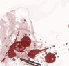 Cartoon: eyes in blood (small) by nayar tagged eyes,blood,war,peace