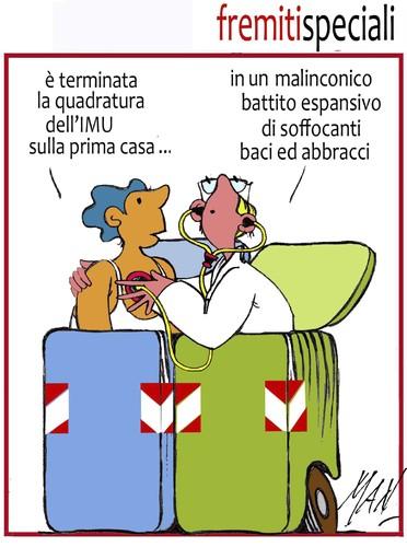 Imu prima casa by enzo maneglia man philosophy cartoon - Imu prima casa domicilio ...