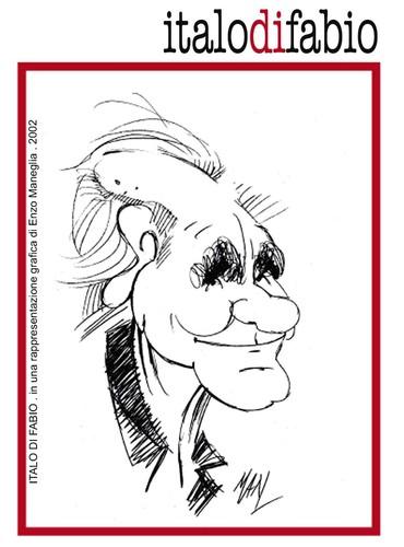 Cartoon: Italo Di Fabio fotoamatore (medium) by Enzo Maneglia Man tagged maneglia,fotoamatore,italodifabio