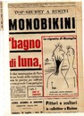 Cartoon: monobikini 1964 (small) by Enzo Maneglia Man tagged monobikini,rivieraeco,maneglia,man