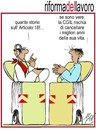 Cartoon: riforma del lavoro (small) by Enzo Maneglia Man tagged cassonettari,man,maneglia,fighillearte