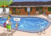 Cartoon: Wassertemperatur (small) by rene tagged baden,schwimmen,pool,ferien,temperatur,wasser,schwanz,penis