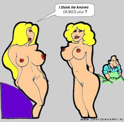 Cartoon lady naked