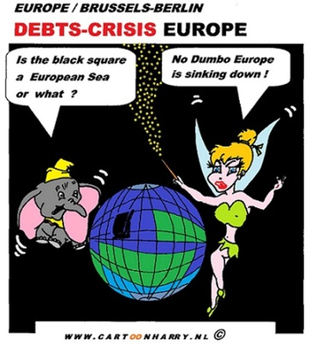 cartoons european debt crisis