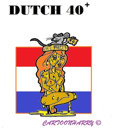 Cartoon: Dutch Cheese (medium) by cartoonharry tagged holland,pinup,cheese,40plus,mouse
