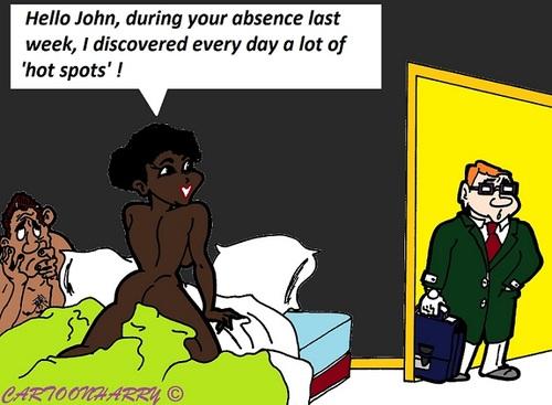 Hot Spots By Cartoonharry Love Cartoon Toonpool