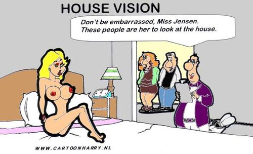cartoon house. Cartoon: House Vision (medium)