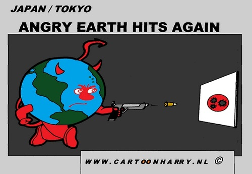 Cartoon: Japan Again (medium) by cartoonharry tagged japan,tokyo,again,target,world,angry,cartoon,comic,comics,comix,artist,art,arts,drawing,cartoonist,cartoonharry,dutch,toonpool,toonsup,facebook,hyves,linkedin,buurtlink,deviantart