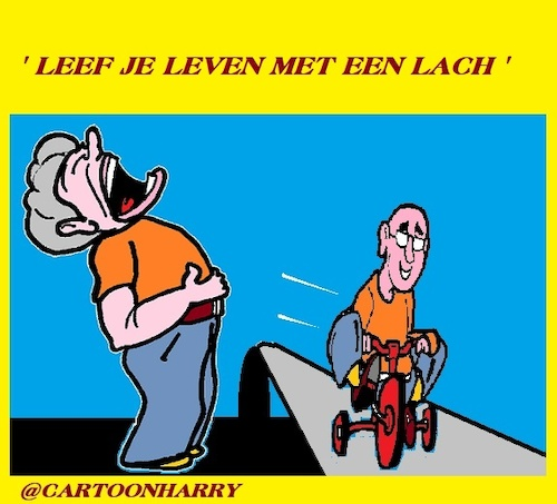 Cartoon: Lachen (medium) by cartoonharry tagged lachen