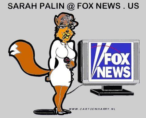 Cartoon: Sarah Palin at FoxNews.us (medium) by cartoonharry tagged fox,cartoonharry,sarah,palin,foxnews