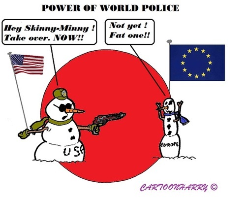 do we need a global policeman Obama says us will no longer be the world's policeman  just because we  have the best hammer does not mean that every problem is a.