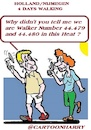Cartoon: 4Days (small) by cartoonharry tagged walking,cartoonharry