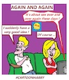 Cartoon: Again and Again (small) by cartoonharry tagged again,cartoonharry